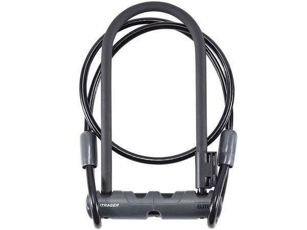 BONTRAGER Elite Keyed U-Lock with 4 foot Cable (Abus Ultra Mini 410/150HB180 U-Lock with Cobra 10/120) click to zoom image
