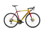 ORBEA Orca M20TEAM-D Sizes: 47, 49, 51, 53, 55, 57, 60cm; Colour: Gloss Yellow/Red Fade;  click to zoom image