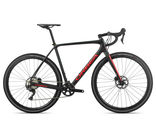ORBEA Terra M30-D IX Sizes: XS, S, M, L and XL; Colour: Matte Black/Bright Red  click to zoom image