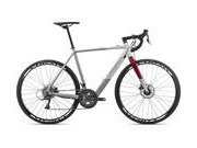 ORBEA Gain D50 Size: S; Colour: Gloss White/Grey/Burgundy  click to zoom image