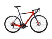 ORBEA Gain M30 Sizes: XS, S, M, L, XL; Colour: Satin Bright Red/Blue Fade  click to zoom image