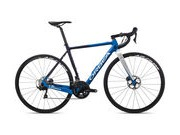 ORBEA Gain M30 Sizes: XS, S, M, L, XL; Colour: Satin Blue Fade/White;  click to zoom image