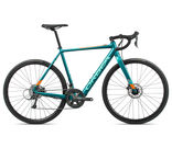 ORBEA Gain D50 Sizes: XS, S, M, L, XL; Colour: Gloss Turquoise/Orange;  click to zoom image
