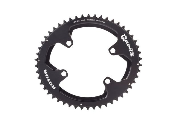 ROTOR Q-Ring Spider Mount Oval Outer Chainring for ALDHU and Shimano 4 Bolt click to zoom image