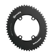 ROTOR Aero Q-Ring Spider Mount Oval Outer Chainring for ALDHU and Shimano 4 Bolt
