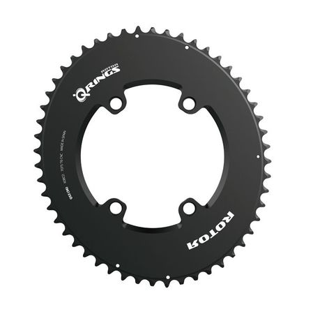 ROTOR Aero Q-Ring Spider Mount Oval Outer Chainring for ALDHU and Shimano 4 Bolt click to zoom image