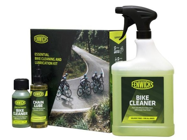 FENWICK'S Essential Bike Cleaning and Lubrication Kit click to zoom image