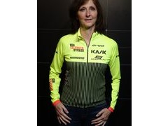 ORCA Custom Ken Ellerker Cycles Long Sleeve Fleece Jersey Hi-Viz