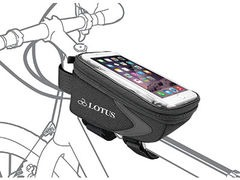 LOTUS Commuter Top Tube Bag with Smart Phone Pocket