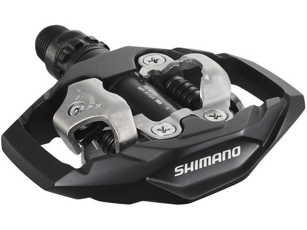 SHIMANO PD-M530 MTB SPD Trail Pedals click to zoom image