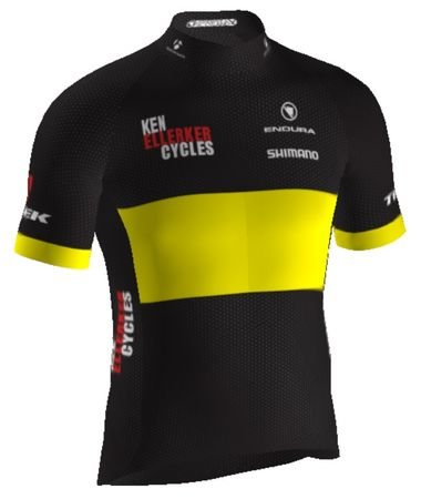 ENDURA Ken Ellerker Cycles Custom Pro SL Race Short Sleeve Jersey click to zoom image